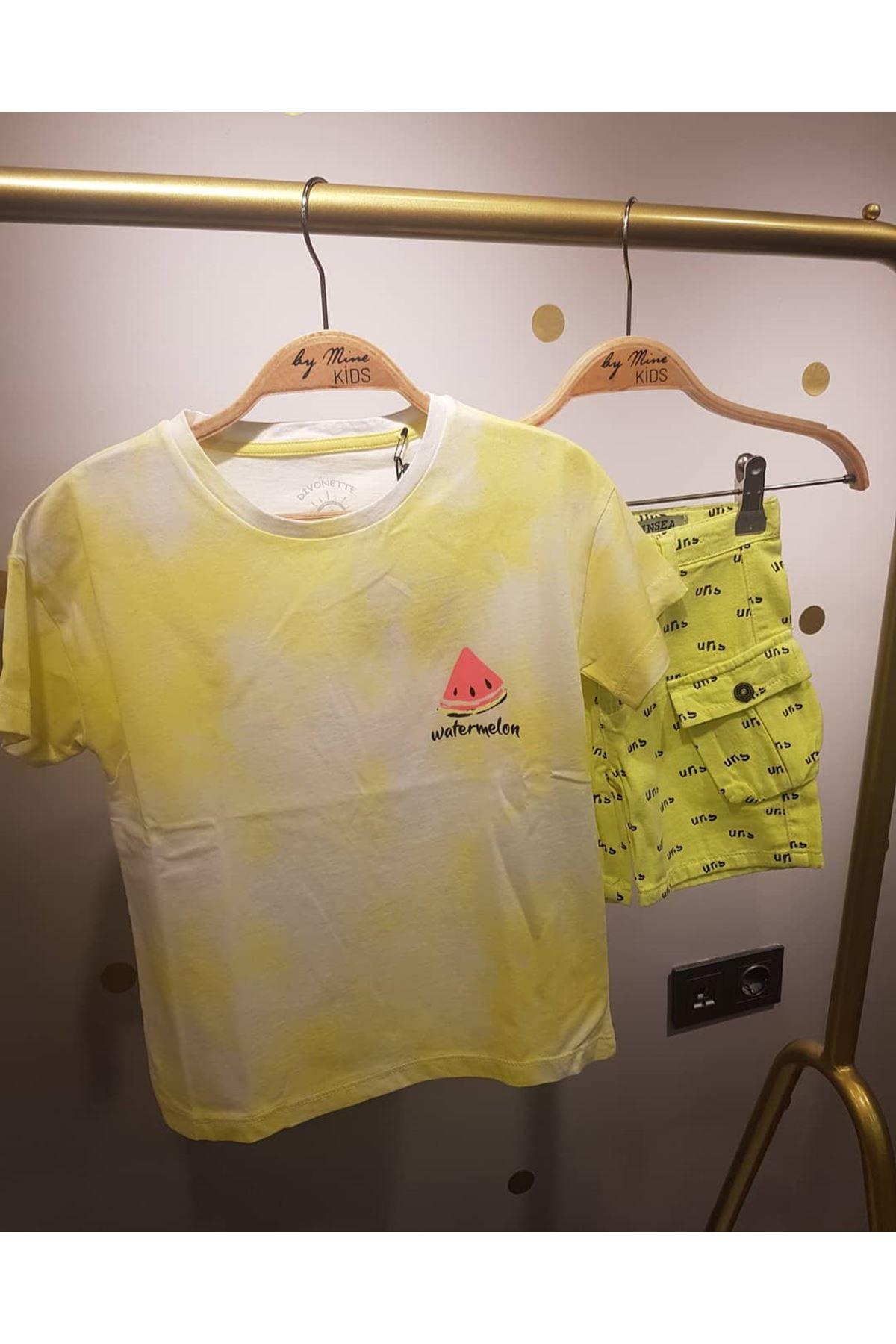 Neon - Beyaz Basic T-shirt