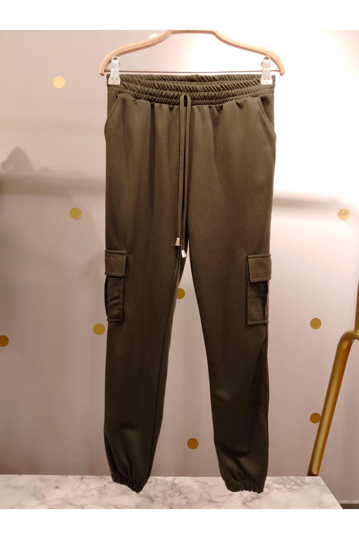 Ayrobin Kumaş Pantolon