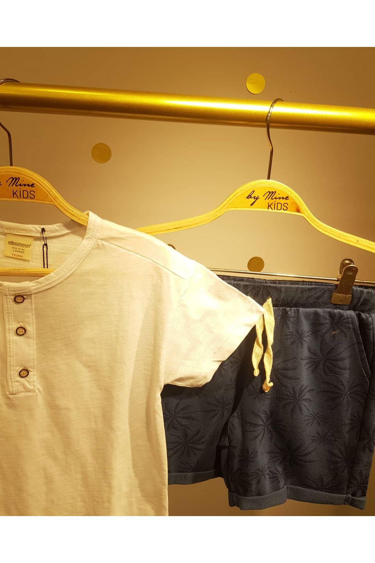Beyaz Basic Pamuklu T-shirt