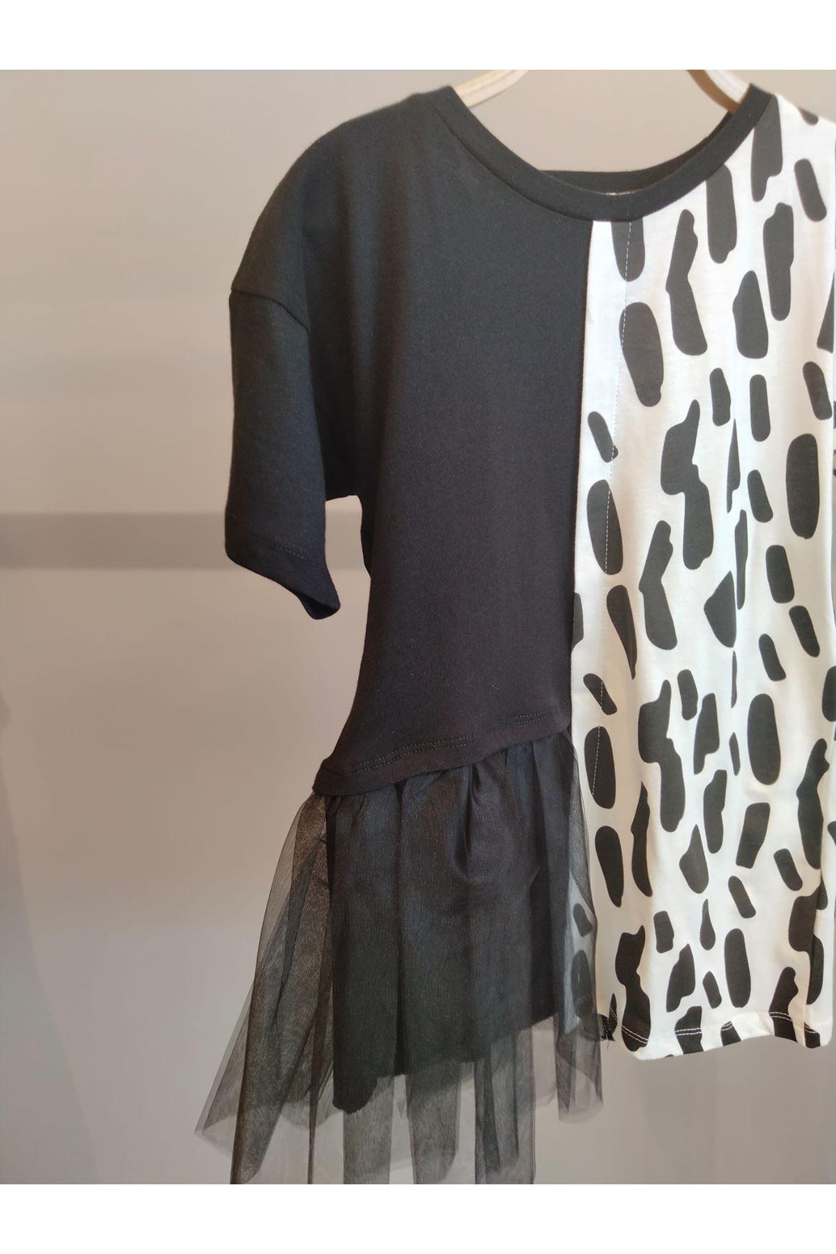 Dalmaçyalı Tütü Detaylı Elbise